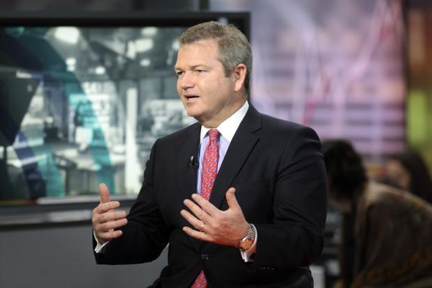 Invesco CEO Martin Flanagan. Invesco is betting $5.7 billion that active management has a bright future. Photo: Bloomberg