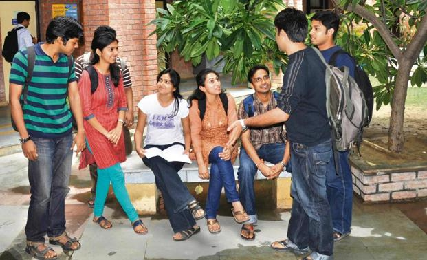 Summer placements began on a positive note. Photo: HT