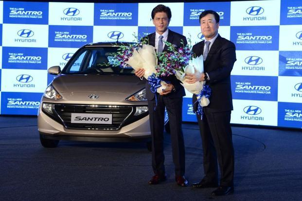 New Hyundai Santro Gets Over 1 000 Bookings A Day Livemint
