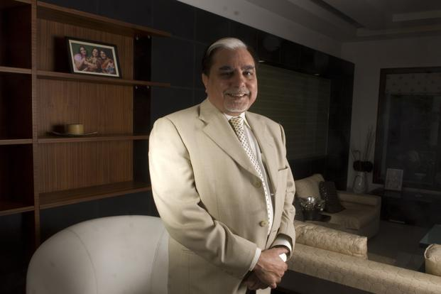 ZEE chairman Subhash Chandra. Photo: Ramesh Pathania/Mint