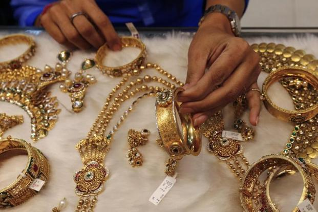 Prices of gold 99.99% and 99.5% purity rallied by Rs 125 each to Rs 32,625 and Rs 32,475 per 10 gram, respectively. Photo: Reuters