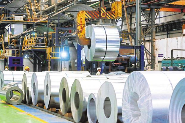 JSW Steel is aiming for 26mtpa production capacity by 2020-21 on capacity addition and Monnet Ispat acquisition, even as focuses on making high-grade steel. Photo: Bloomberg
