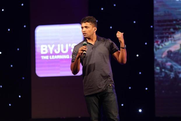 Byju's founder Byju Raveendran. Byju's claims it is among the few profitable Indian unicorns.