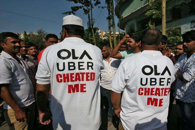 The Ola-Uber strike in Mumbai has been on for the past nine days. Photo: Reuters