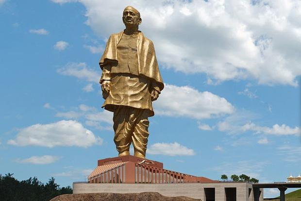 height of statue of unity