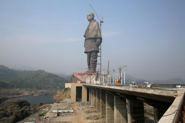 The bronze panels on the Statue of Unity were cast at a foundry in China as no such facility is available in India.