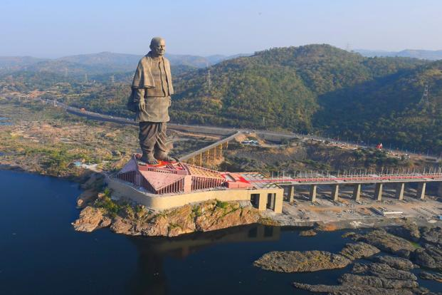 The Statue of Unity is open to the public from tomorrow on all days of the week from 9 am to 6 pm.