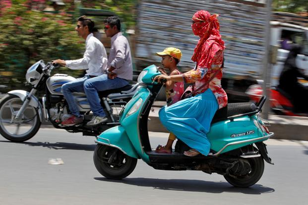 With approximately 200 million two-wheelers on road, India is by far the largest market, globally, for motorcycles and scooters. Photo: Reuters