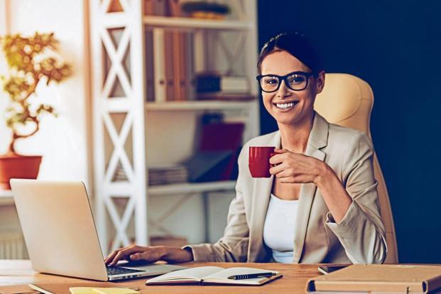 Not just the beverage, but what you drink it in can be a great conversation starter at the workplace. Photo: iStock