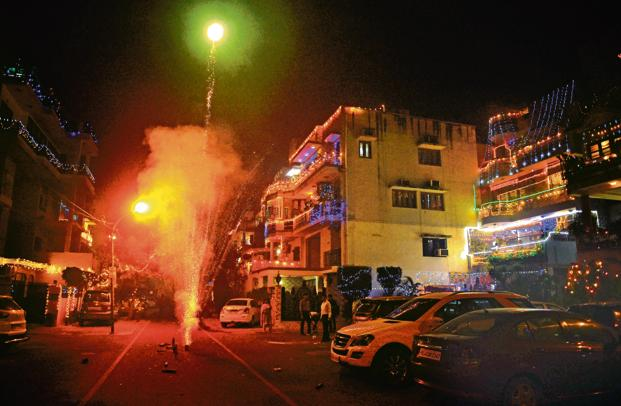 diwali 2018 official timing for fireworks and green crackers livemint