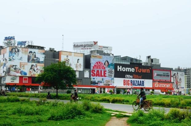 The contract with the investment arm Amazona is set at around 2.5 thousand. Crore. Future Retail has over 1,100 physical stores in India. Photo: Mint