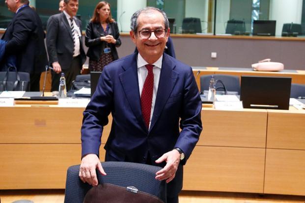 Italy's economy minister Giovanni Tria. File photo: Reuters (Reuters)