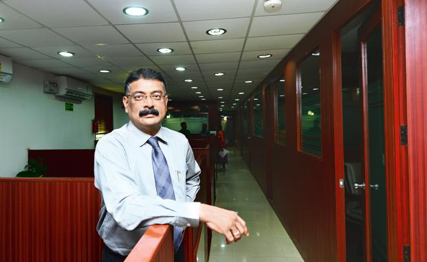 T.A. Krishnan, founder Ecom Express. Photo: Ramesh Pathania/Mint
