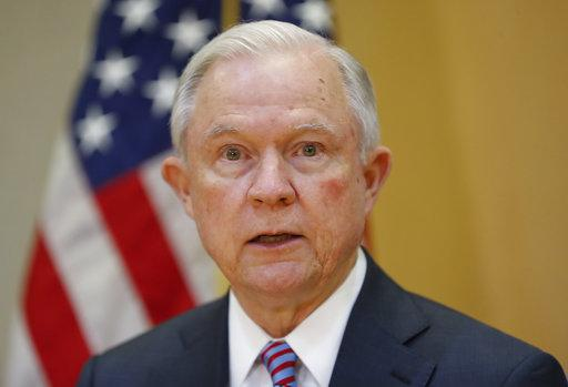 Former US Attorney General Jeff Sessions. Photo: AP