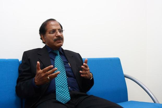V.P. Nandakumar, CEO, Manappuram Finance.