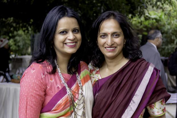 Shauravi Malik (left) and Meghana Narayan.