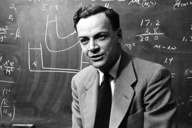 The theoretical physicist Richard Feynman famously told an interviewer that he couldn't explain magnetic attraction in terms of anything that the interviewer found familiar. Photo courtesy: Caltech Archives
