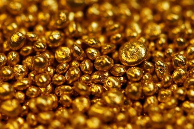 Gold prices today fell by Rs 150 to Rs 32,250 per 10 grams.