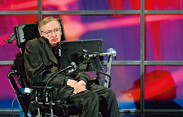 Hawking's thesis and wheelchair fetch $1 mil.