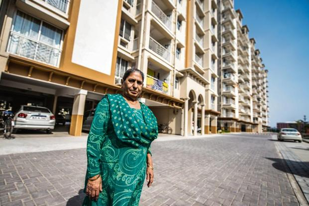 Pawan Bagga, 73, liked the friendly and comfortable environment of the senior living community she went to check out and decided to shift. Photo: Pradeep Gaur/Mint