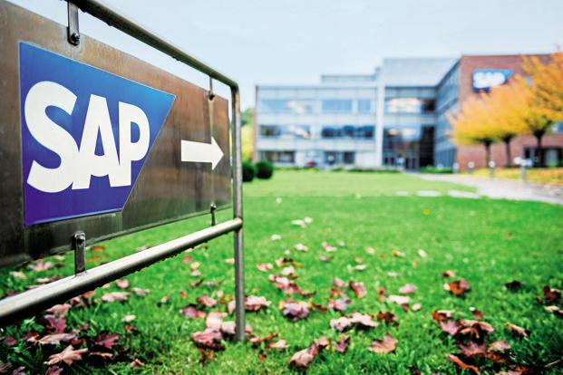 SAP shares fall as the German-based software firm buys Qualtrics