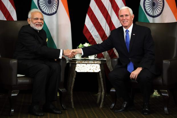 Pence says U.S.  committed to Indo-Pacific, not seeking control