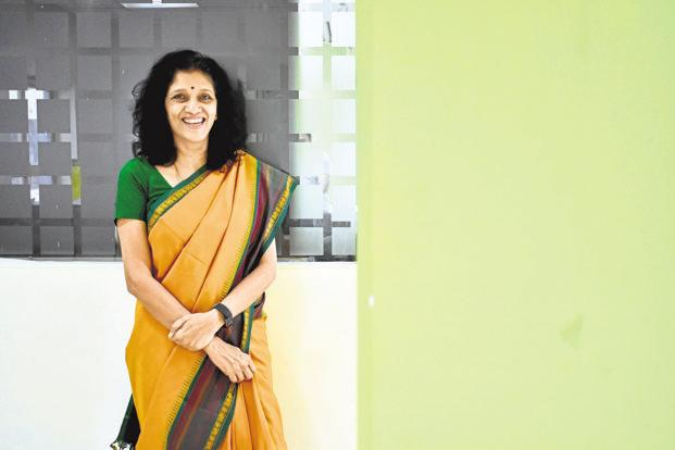 """I strongly believe it's important to create the right culture upfront, set certain standards on what is right behaviour and what is not,"" says Meena Ganesh, CEO and MD, Portea Medical. Photo: Jithendra M/Mint"
