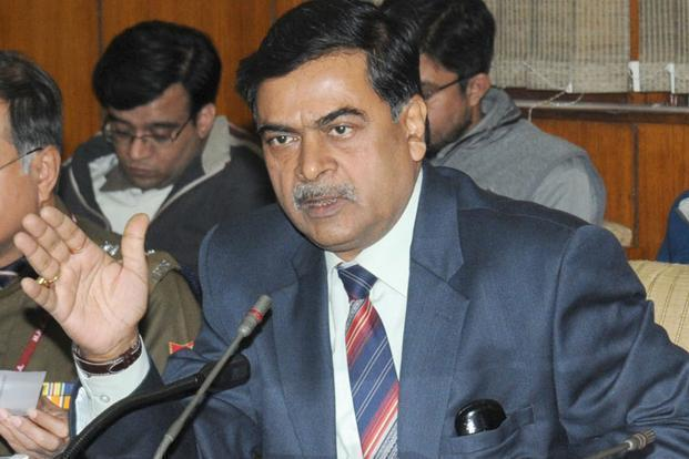 A file photo of Union power minister R. K. Singh. Photo: Mint