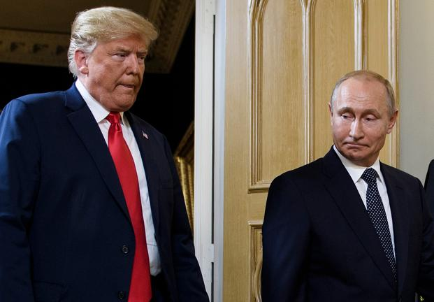 The Russian president said he hopes to make progress on restoring relations with the US when he meets Trump at the end of this month on the sidelines of the Group of 20 summit in Argentina. Photo: AFP