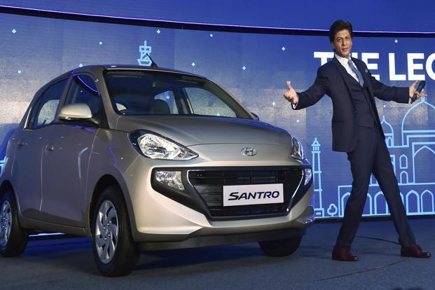 The Santro had established a strong brand association with middle-class Indians, so much so that Hyundai had to revive the brand less than five years into discontinuing it. Photo: PTI