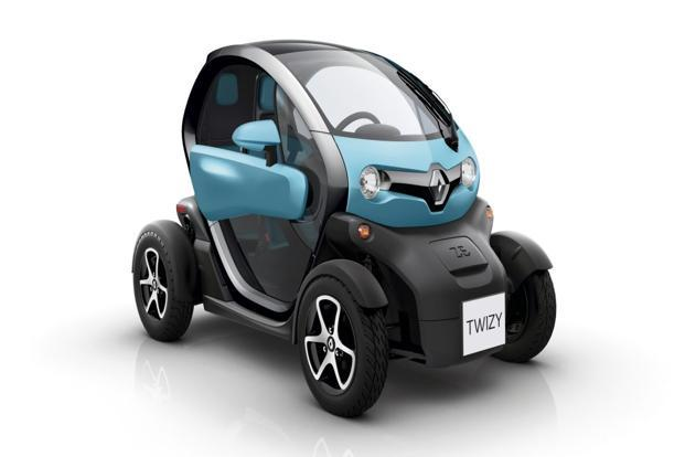 A Renault Twizy in Lagoon Blue. Photo: Renault