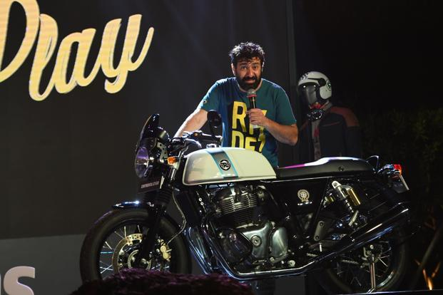 'Royal Enfield has taken the game from 350cc to 650cc'