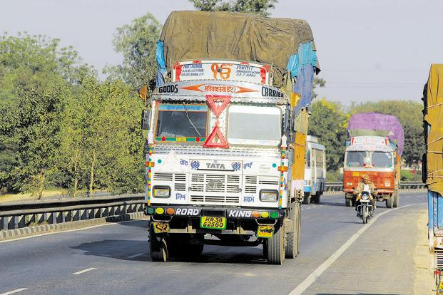 Truck sales, however, are expected to pick up momentum in the run up to the implementation of Bharat Stage VI (BS VI) emission norms. Photo: Ramesh Pathania/Mint