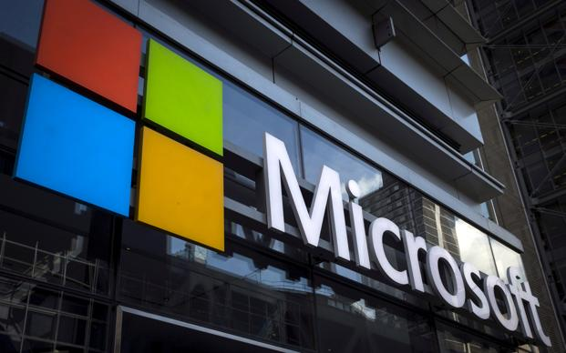 Microsoft is being viewed by many investors as a place to park assets while going through this white-knuckle period. Photo: Reuters