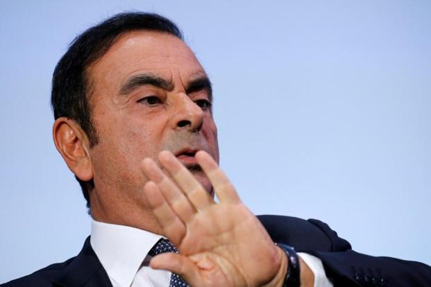 Carlos Ghosn hasn't commented on the developments or appeared in public. Photo: Reuters