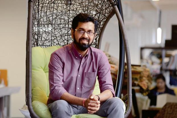 Urban Ladder co-founder and chief executive Ashish Goel. Photo: Mint