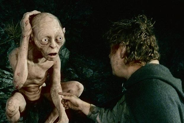 Your 'inner voice' is like Gollum in 'Lord Of The Rings'. Photo: AFP