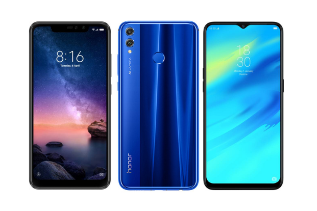 comparison redmi note 6 pro vs honor 8x vs realme 2 pro livemint
