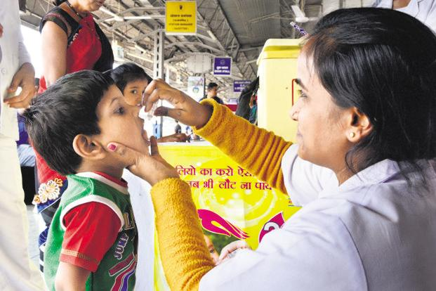 In September, traces of polio type-2 virus were discovered in vaccines made by Ghaziabad-based Bio-Med for the national polio vaccination programme. Photo: HT