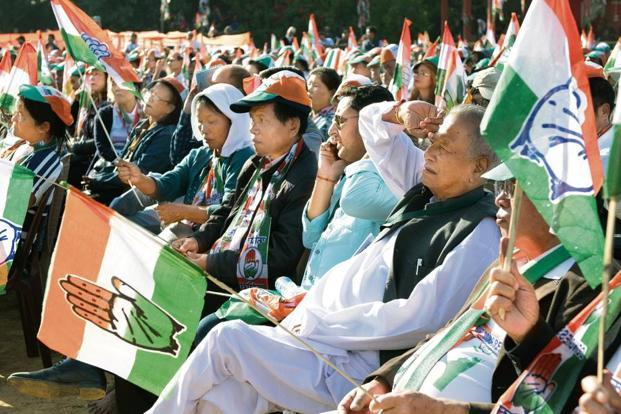 The Congress govt led by CM Thanhawla has been campaigning on a development platform as has been the BJP. Photo: Tetea Ralte/Mint