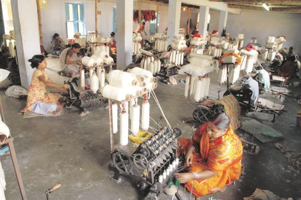 According to KVIC, the Khadi turnover was Rs 811 crore in 2014-15 and it increased to Rs 2,509 crore in 2017-18. Photo: Mint