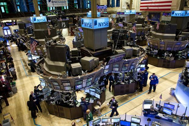 At 9:39 am EDT the Dow Jones was down 171.84 points at 24,468.40 the S&P 500 was down 12.37 points at 2,661.08 and the Nasdaq was down 49.99 points at 7,031.86