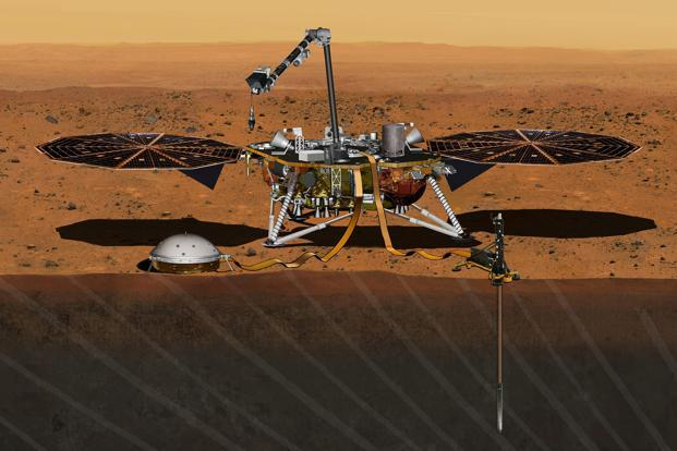 NASA's Insight spacecraft touches down on Mars