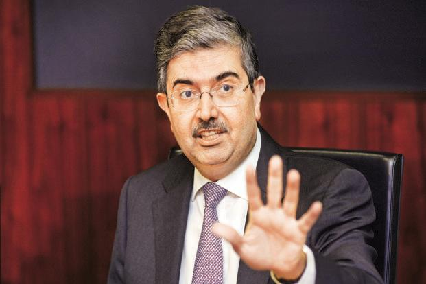 Uday Kotak. Analysts say that missing the deadline on meeting RBI promoter shareholding norms will be disastrous for Kotak Mahindra Bank share prices. Photo: Abhijit Bhatlekar/Mint