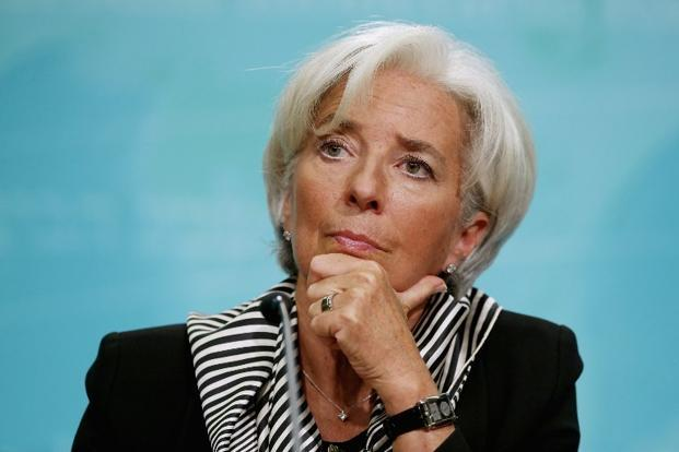 IMF Managing Director Christine Lagarde. Photo: AFP