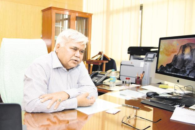 Trai chairman RS Sharma. Photo: Ramesh Pathania/Mint