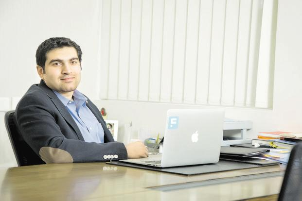 Capital Float co-founder Gaurav Hinduja. Capital Float claims to have over 50,000 customers across 300 cities and its average loans ticket size is ₹10-12 lakh.