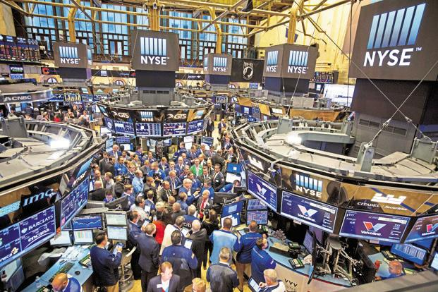 At 1:16 pm ET the Dow Jones was down 565.16 points at 25,261.27 the S&P 500 was down 62.55 points at 2,727.82 and the Nasdaq was down 196.65 points at 7,244.86