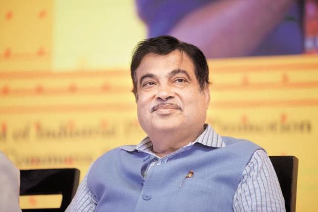 Road transport and shipping minister Nitin Gadkari .  File photo: Mint