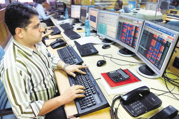 Benchmark indices BSE Sensex and NSE's Nifty 50 closed lower today following negative cues from the global markets. Photo: PTI